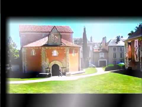 Travel around the world  The city of Poitiers, France   La Ville de Poitiers
