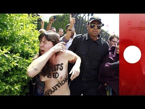 Tunisie : la militante Femen Amina devant la justice