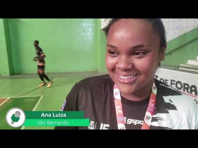 SB Futsal/Tina Lanches 2 x 1 Futsal UFJF - Final Infanto Juvenil Feminino