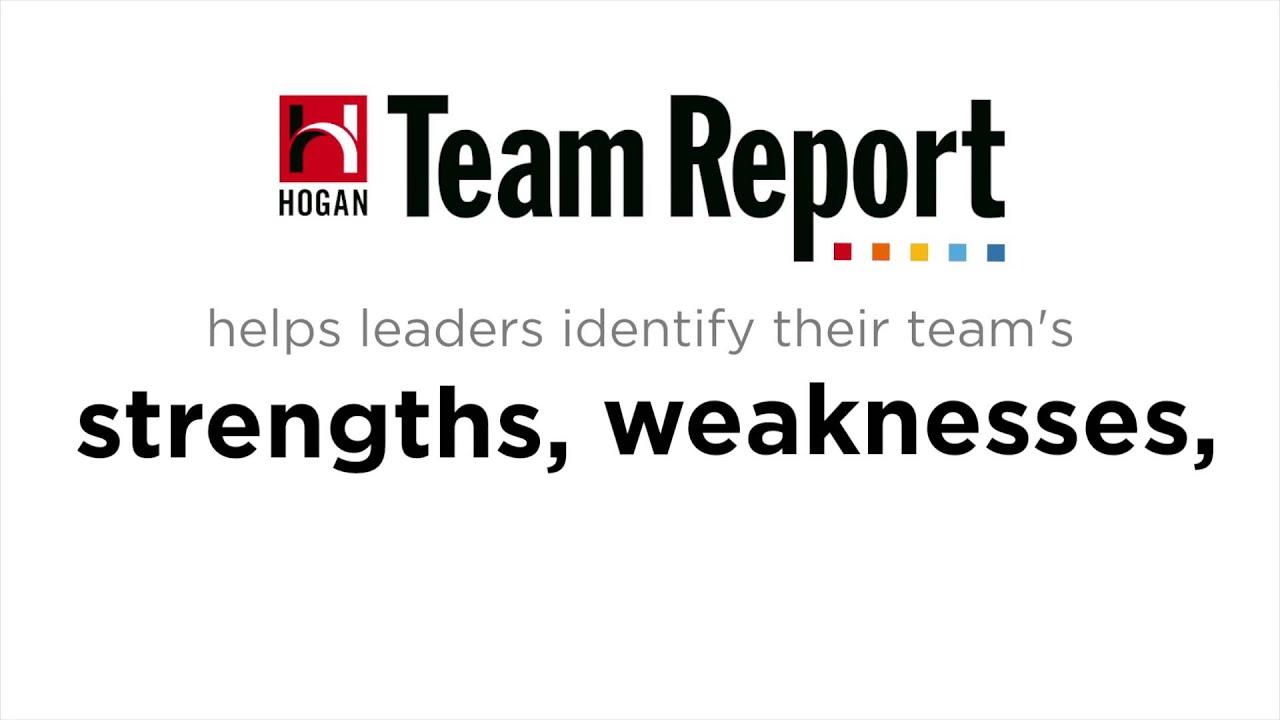 hogan team report pcl