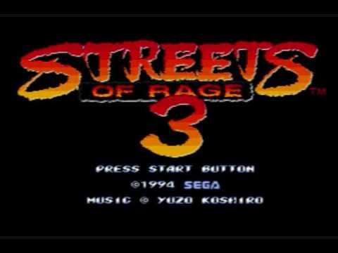 Resultado de imagem para street of rage 3 title