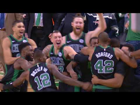 Tissot Buzzer Beater: Al Horford Wins It For The Celtics | February 04, 2018