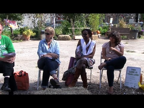 NYC Urban Farming - Growing a Just Food System - 20 September 2014 - panel