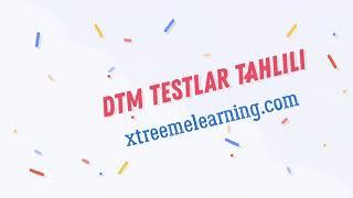 DTM Ingliz Tili Test Tahlili Modal Fe'llar (qoida, Test)