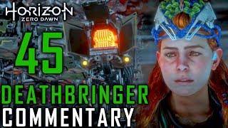 Horizon Zero Dawn Walkthrough - Part 45 - Full Power Deathbringer Battle & The Sacrifice