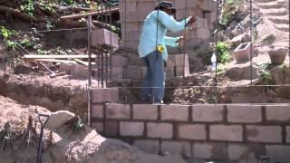Serving El Salvador - Wall Construction at La Casa de Mi Padre
