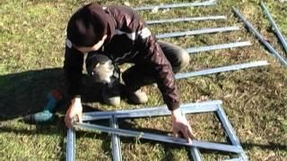 видео Как строить теплицу из гипсокортонового профиля, Настя