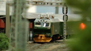 Beautiful Scandinavian Model Railroad in HO gauge from Norway