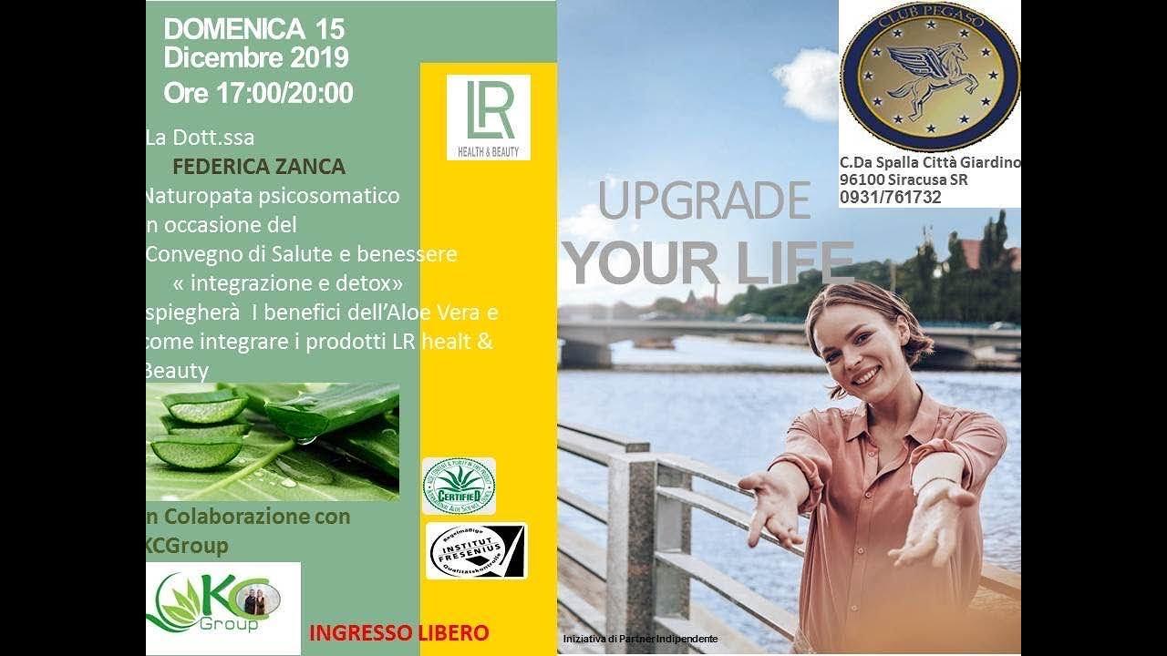 Dott Ssa Federica Zanca Disintossicazione Alimentare E Prevenzione Con Prodotti Lr Health Beauty Youtube