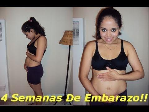 4 Semanas De Embarazo (1 mes De Embarazo)- 4 weeks of pregnancy ...