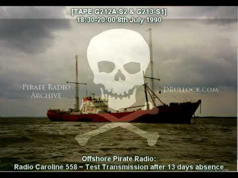 [G212A-S2-EDIT]  Caroline 558 Test ~ 08/09/1990 ~ Offshore Pirate Radio