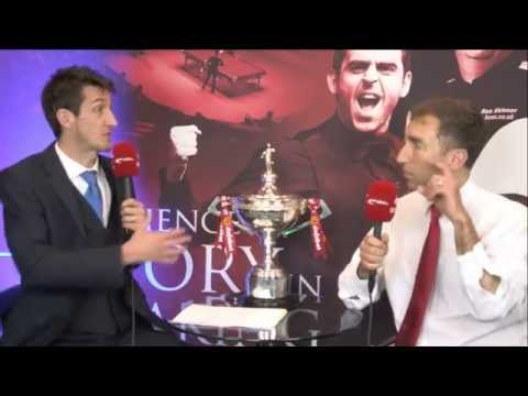 snookerLIVE - Saturday 26th - Afternoon show featuring Ronnie O'Sullivan and Phil Taylor