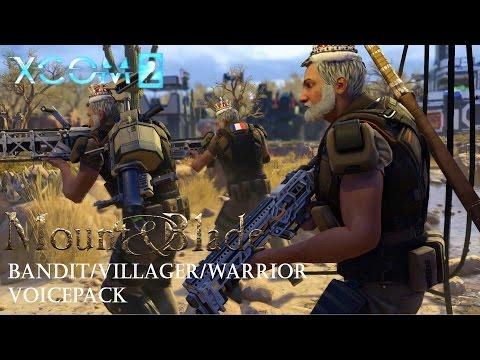 [XCOM 2] Mount & Blade - Bandit/Villager/Warrior VoicePack Preview |