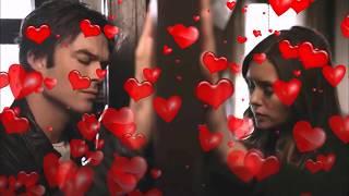 Люблю  до безумия Деймон и Елена