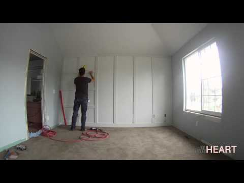 DIY Board and Batten Wall | withHEART