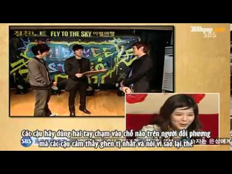 [Vietsub] Intimate note - Fly to the sky 2/7