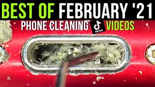 Best of February 2021 Phone Cleaning Videos Compilation from Phone Fix Craft