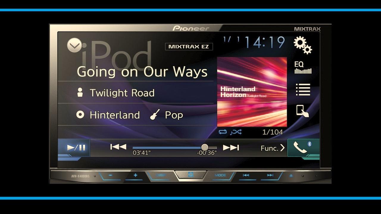 hight resolution of pioneer car stereo avh x4800bs diy install