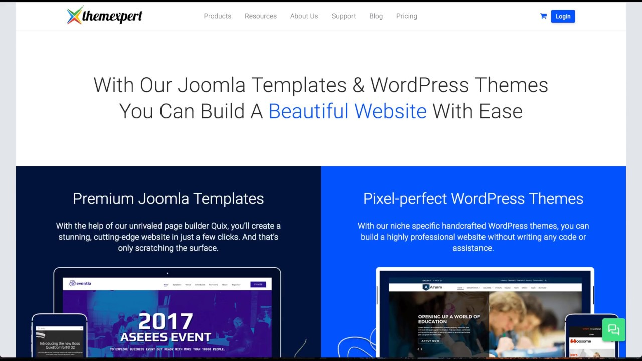 ThemeXpert Joomla Template Overview - YouTube