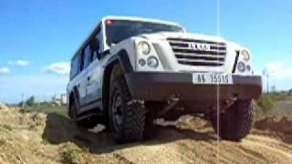 Presentazione con Test Driver dell'Iveco Massif e New Iveco Daily 4x4 a Guardiagrele (CH)