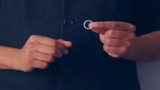 تعلم العاب الخفة # 487 ( مرة اخرى مع الخاتم وصناعة الوهم )  magic trick revealed
