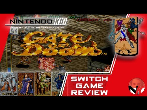 Retro Isometric RPG Action In Gate Of Doom Switch!