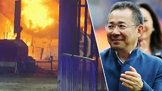 Soccer Fans Honor Leicester City Team Owner Suspected Dead in Helicopter Crash