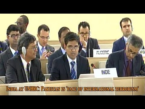 India lambasted at Pakistan during the United Nations Human Rights Council UNHRC: Newspoint Tv