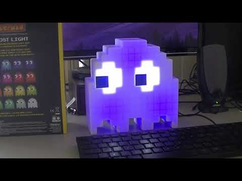 Unboxing Pacman Ghost Light Retro Collectable