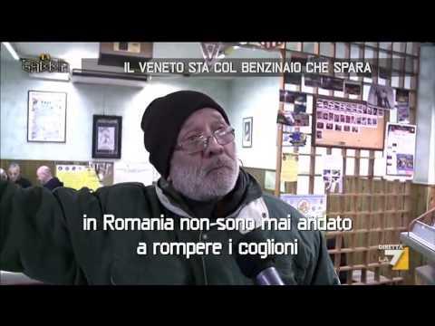 Il Veneto sta con il benzinaio che spara