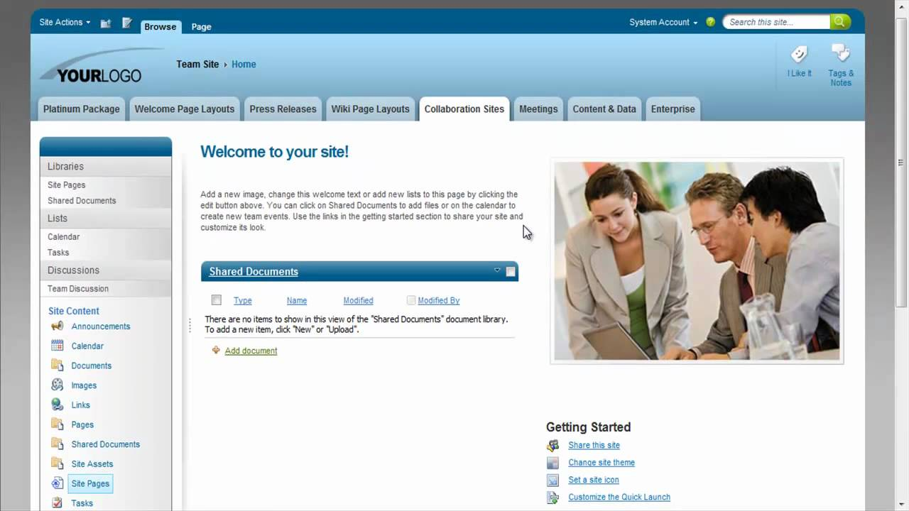 Themes For Sharepoint 2010 Youtube