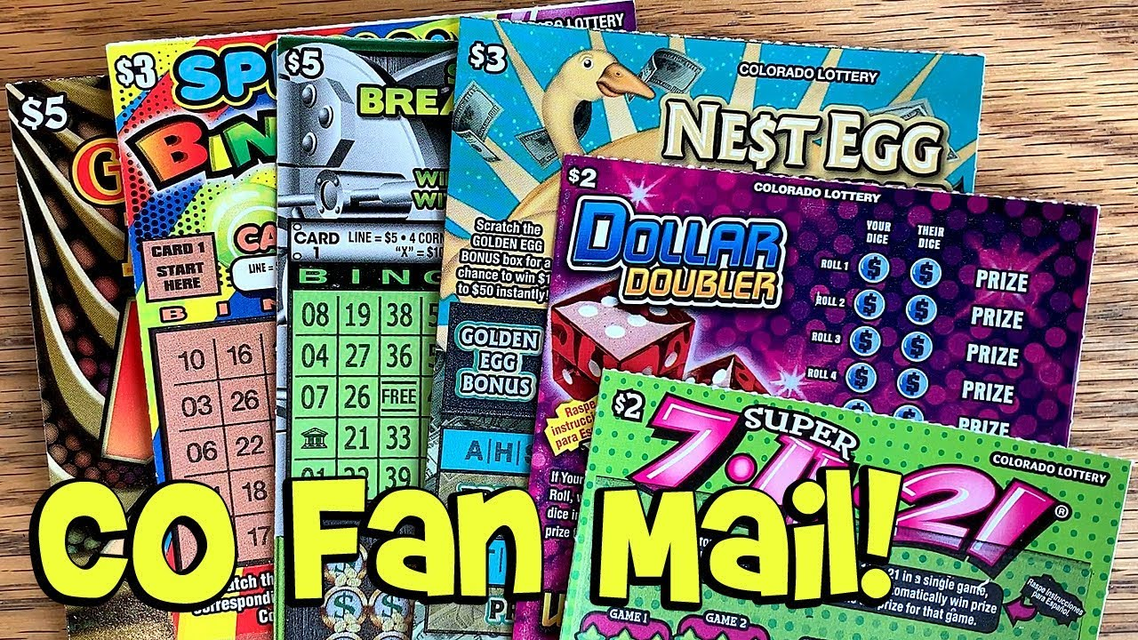 FAN MAIL! Give Me 5, Super 7-11-21, Dollar Doubler + More! ✦ Colorado  Lottery Scratch Tickets