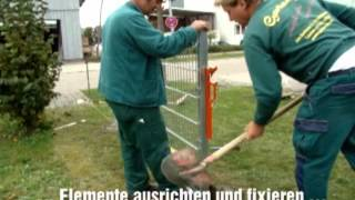Faulenzer - Die Neuheit im Zaunbau   Gartenfee Obersulm
