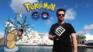 POKEMON GO PÅ SVENSKA I SPANIEN | GYARADOS EVOLVE, LEVEL 30 & MAGISK GROWLITHE