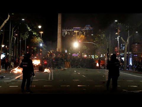 أعمال شغب وعنف في برشلونة  - نشر قبل 2 ساعة