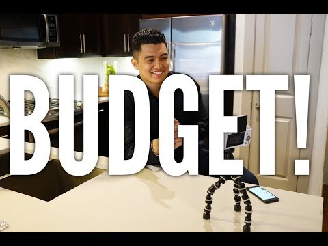 BUDGET! - Apartments Of Houston Vlog