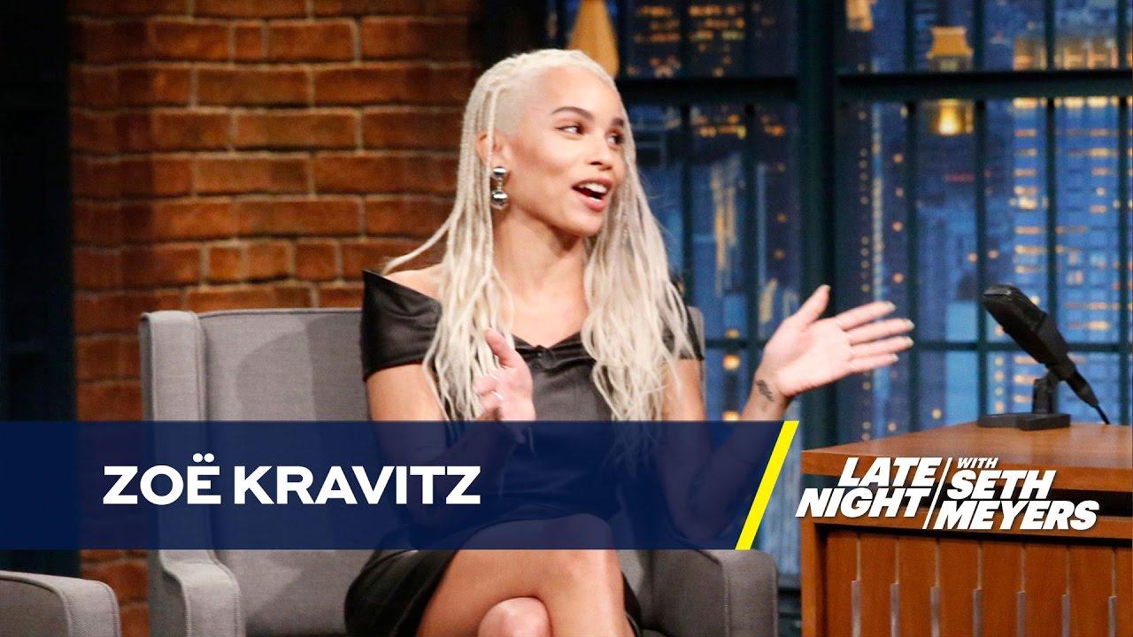 Zoe Kravitz Piercings: Zoë Kravitz Had A Piercing Party For Her 12th Birthday