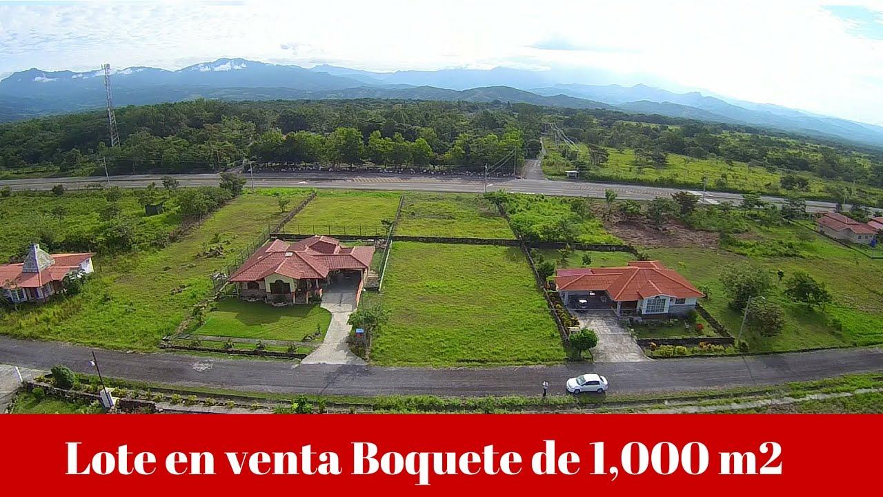 Venta de lote en boquete de 1 000 m2 chiriqu prestige for Gartengestaltung 1000 m2