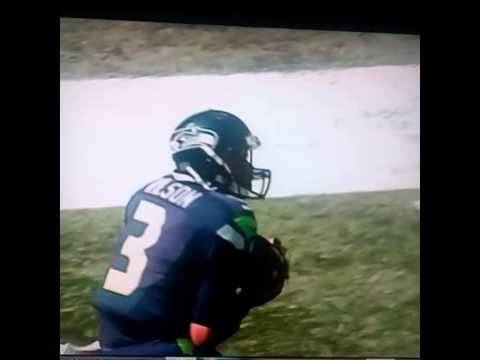 russell wilson trick catch