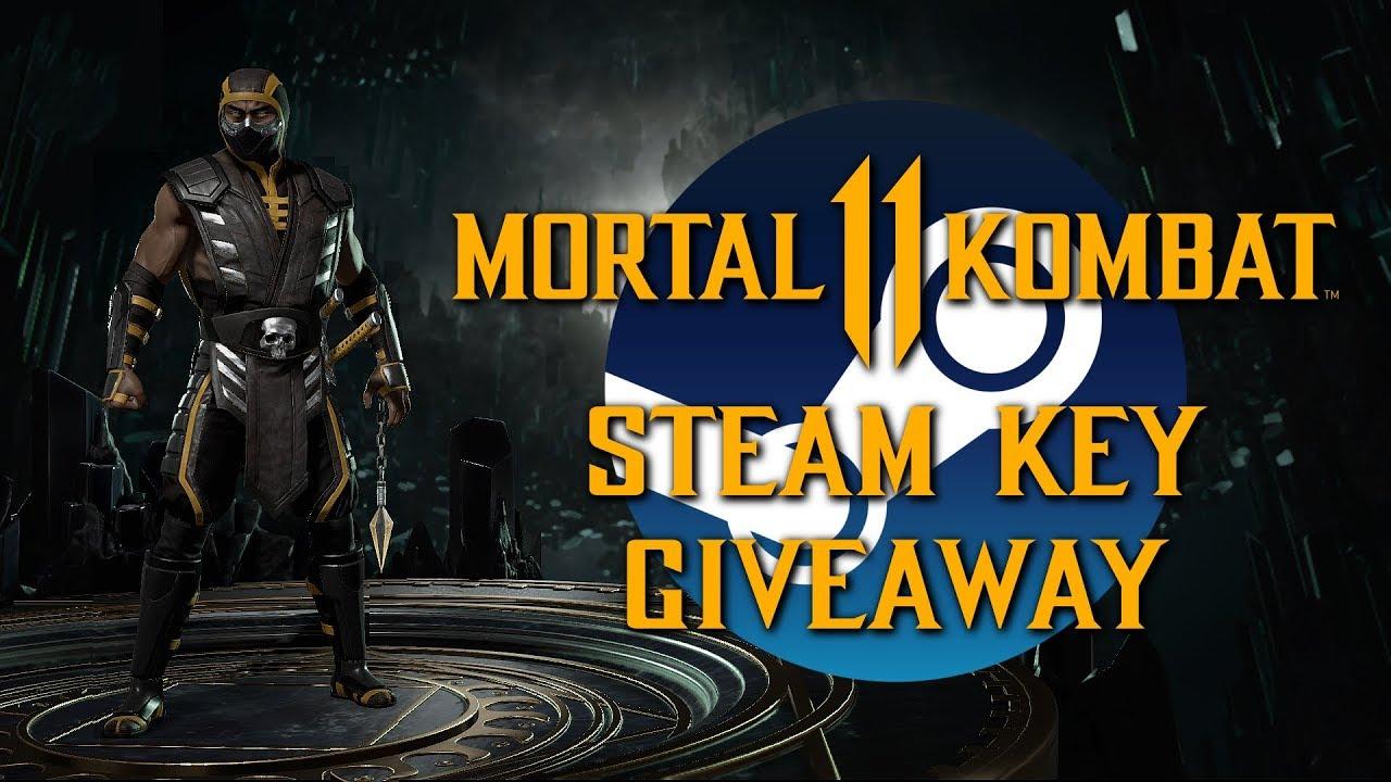 Mortal Kombat 11 STEAM KEY GIVEAWAY (20k Sub Special)