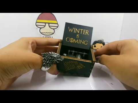 Caja Musical Game Of Thrones Edición Especial Black