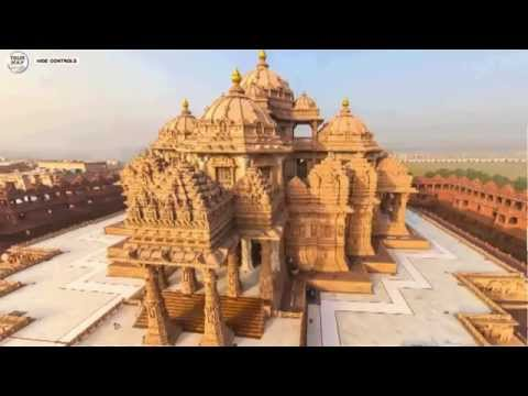 Akshardham - A Hindu Temple in New Delhi, India