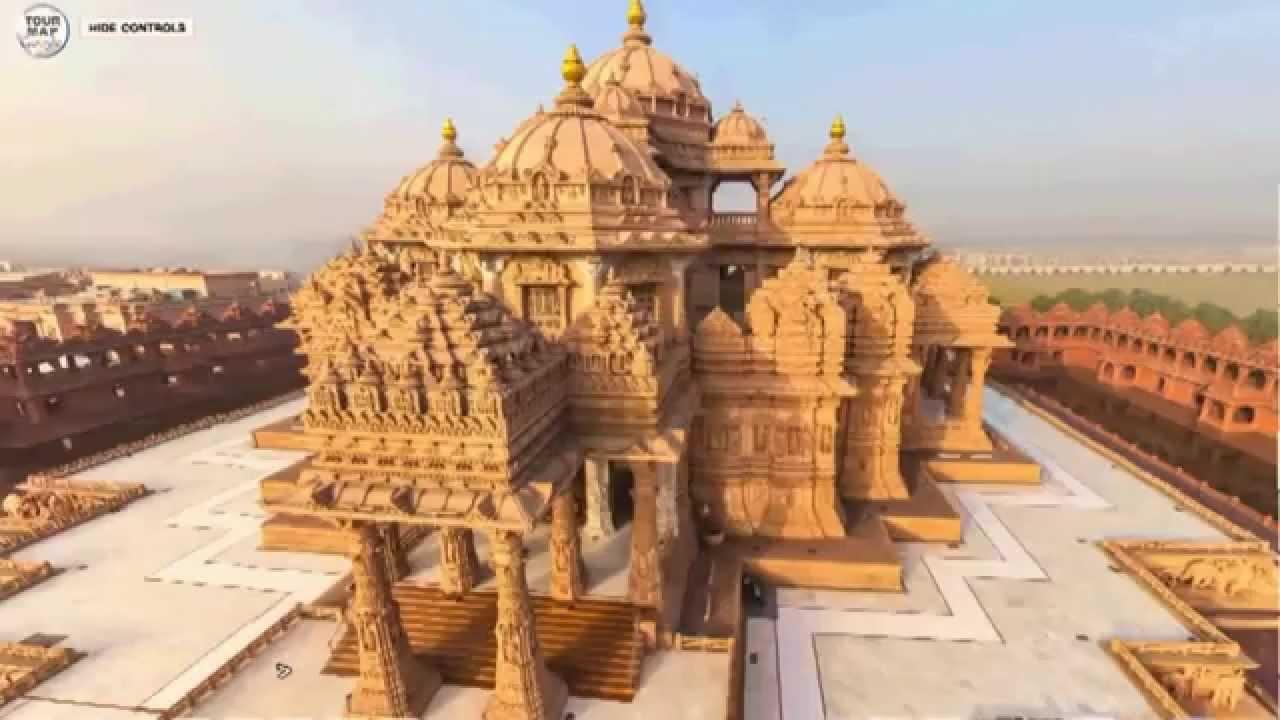 Akshardham A Hindu Temple In New Delhi India Youtube