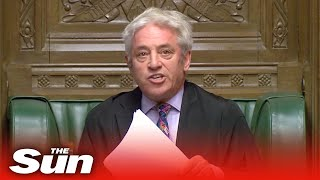 Bercow BLOCKS Brexit vote on Boris' deal