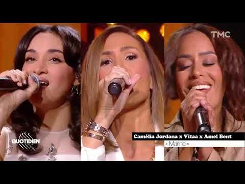 Amel Bent, Camélia Jordana, Vitaa - MARINE (Live Quotidien - 05/04/2021)