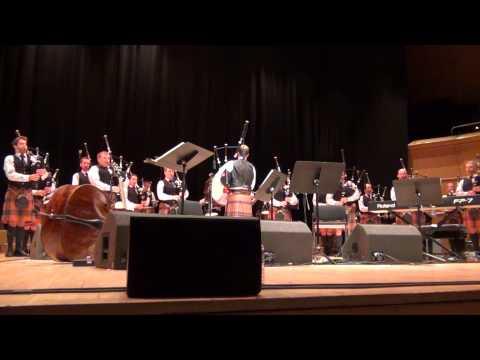 07 McMaster March Set - Simon Fraser University Pipe Band at Royal Concert Hall 2015