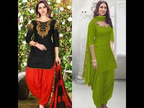 Latest Punjabi Suit Design 2019 New Latest Punjabi Suit Design Punjabi Suit Latest Youtube