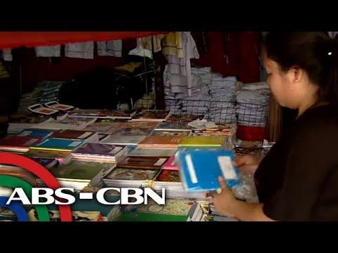 Bandila: Murang school supplies sa Commonwealth, dinarayo