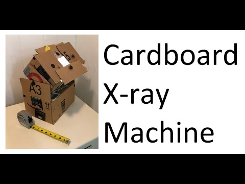 Cardboard X-ray Machine
