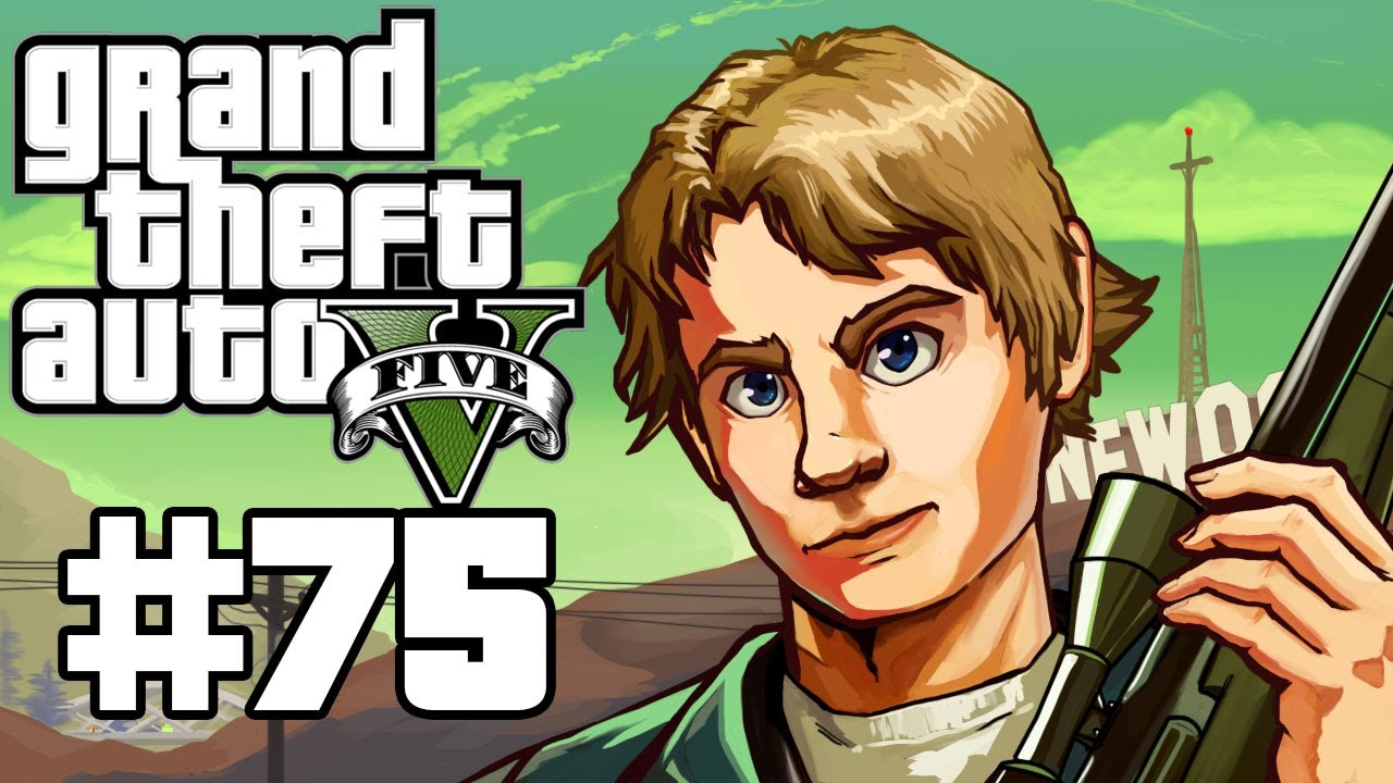 Grand Theft Auto 5 Gameplay / Playthrough w/ SSoHPKC Part 75 - Hunting the O'Neil Brothers